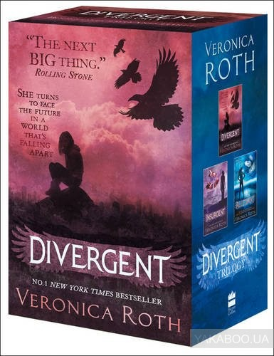 Купить Divergent Series Boxed Set (Books 1-3), HarperCollins Publishers, Вероника Рот, 9780007538041