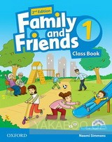 Family and friends: level 1. class book (+multirom