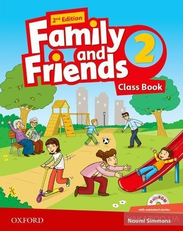 Купить Family and Friends. Level 2. Class Book (+ multi-ROM Pack), Oxford University Press, 9780194808309