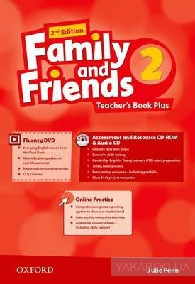 Купить Family and Friends. Level 2. Teacher's Pack, Oxford University Press, 9780194808842