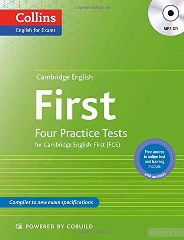 Cambridge english first. four practice tests