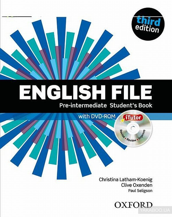 English File. Pre-Intermediate. Student&# 039;s Book with Itutor
