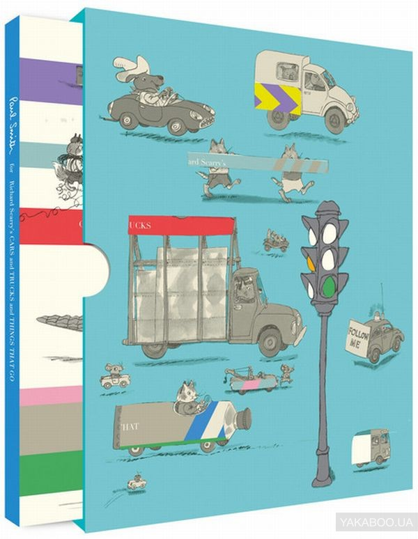 Купить Paul Smith for Richard Scarry's Cars and Trucks and Things That Go, HarperCollins Publishers, Ричард Скарри, 9780007581061#9780007581061