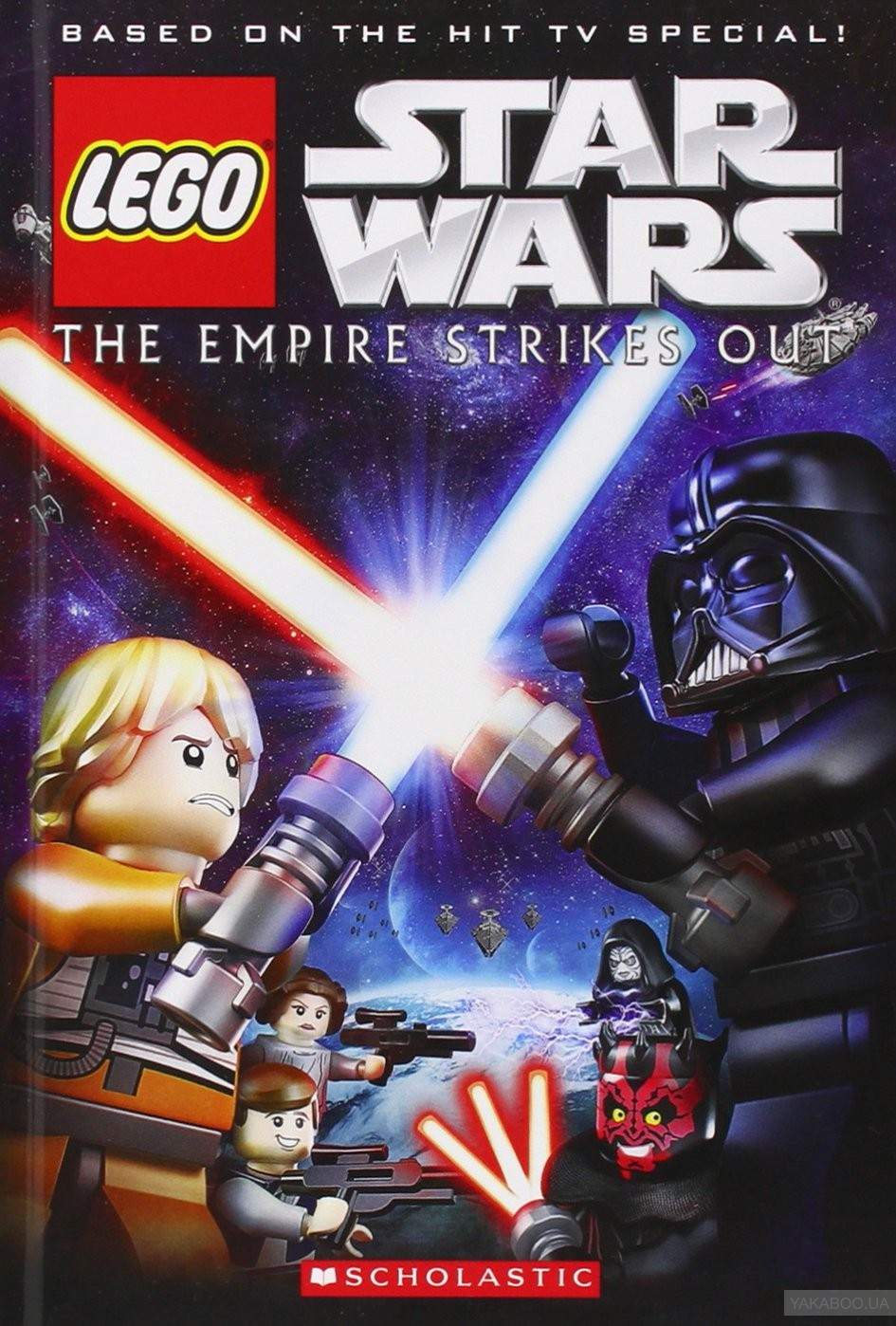 Купить Lego Star Wars: the Empire Strikes Out, Scholastic, Ace Landers, 9781407138503