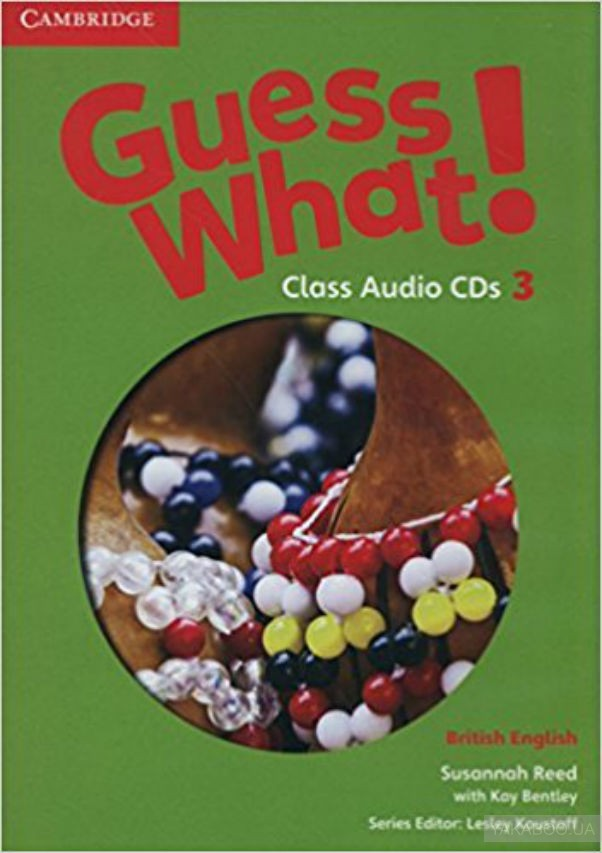 Guess What! 3 Class Audio CDs