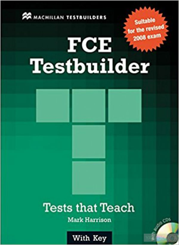First certificate testbuilder with key & audio cd - new edition