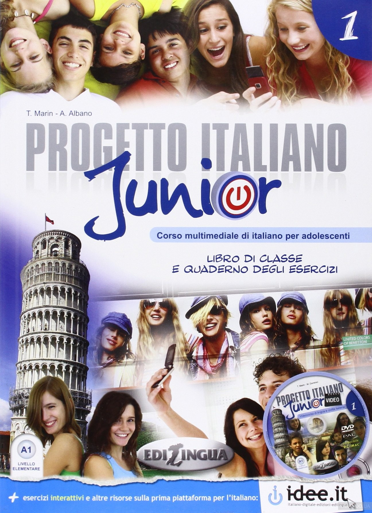 Progetto italiano junior: libro + quaderno