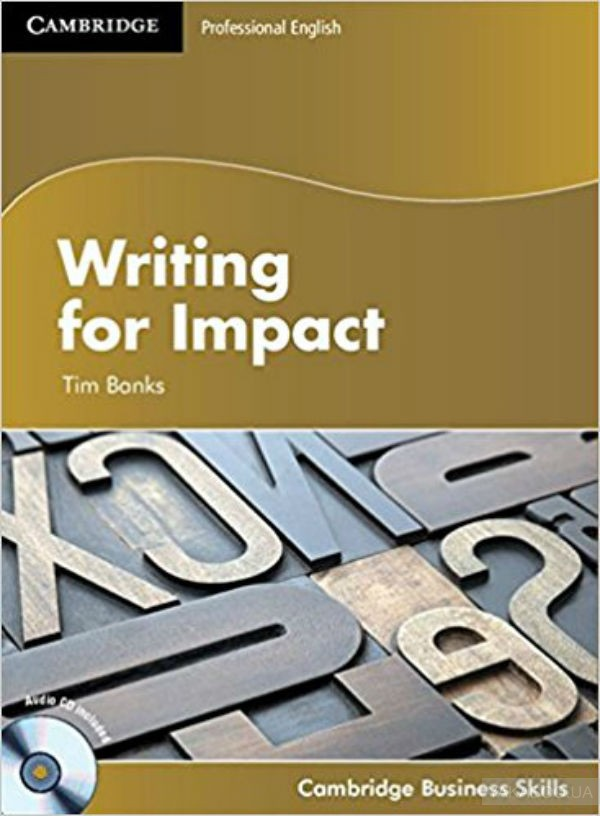 Professional english: writing for impact student's book with
