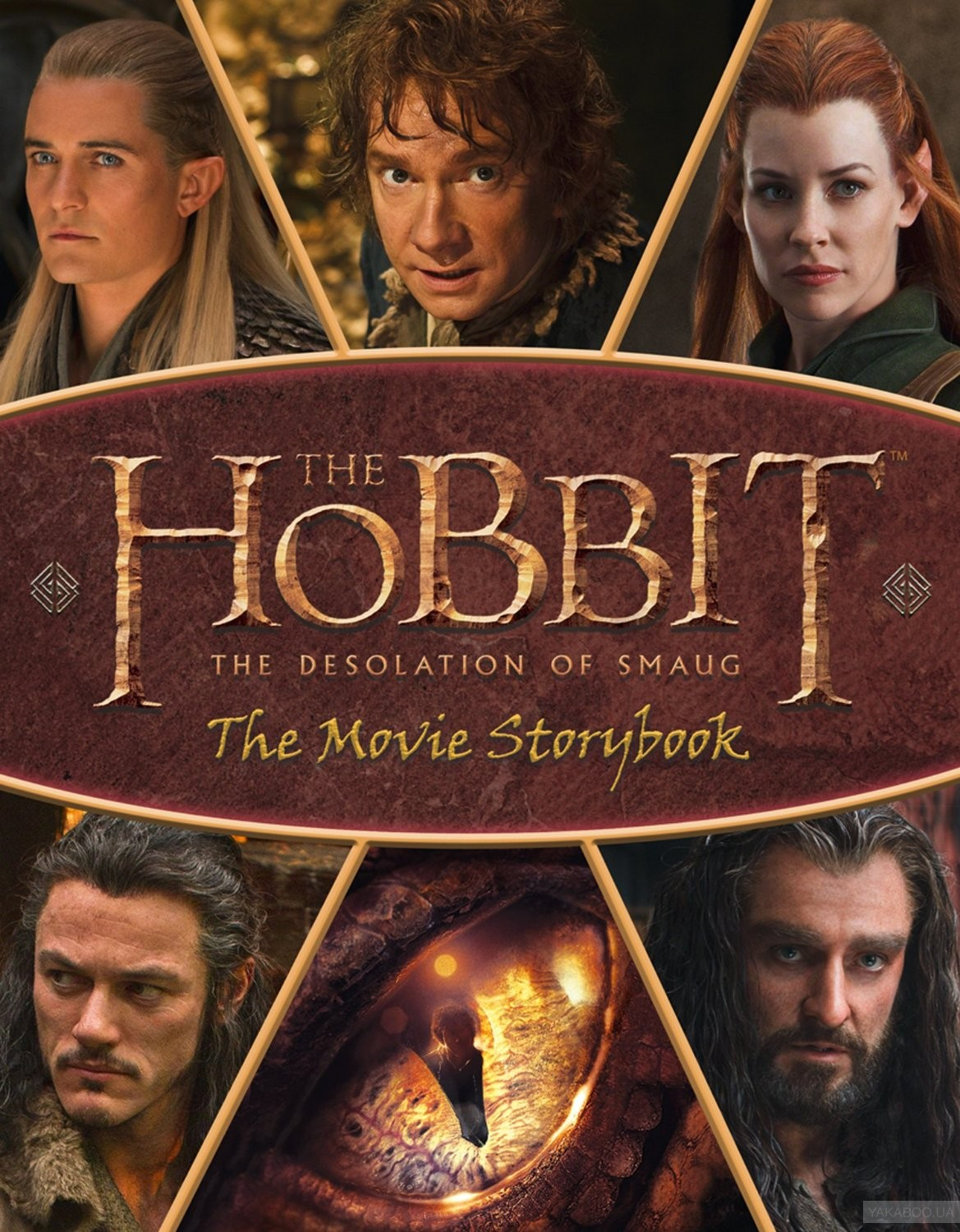 The Hobbit. The Desolation of Smaug: The Movie Storybook