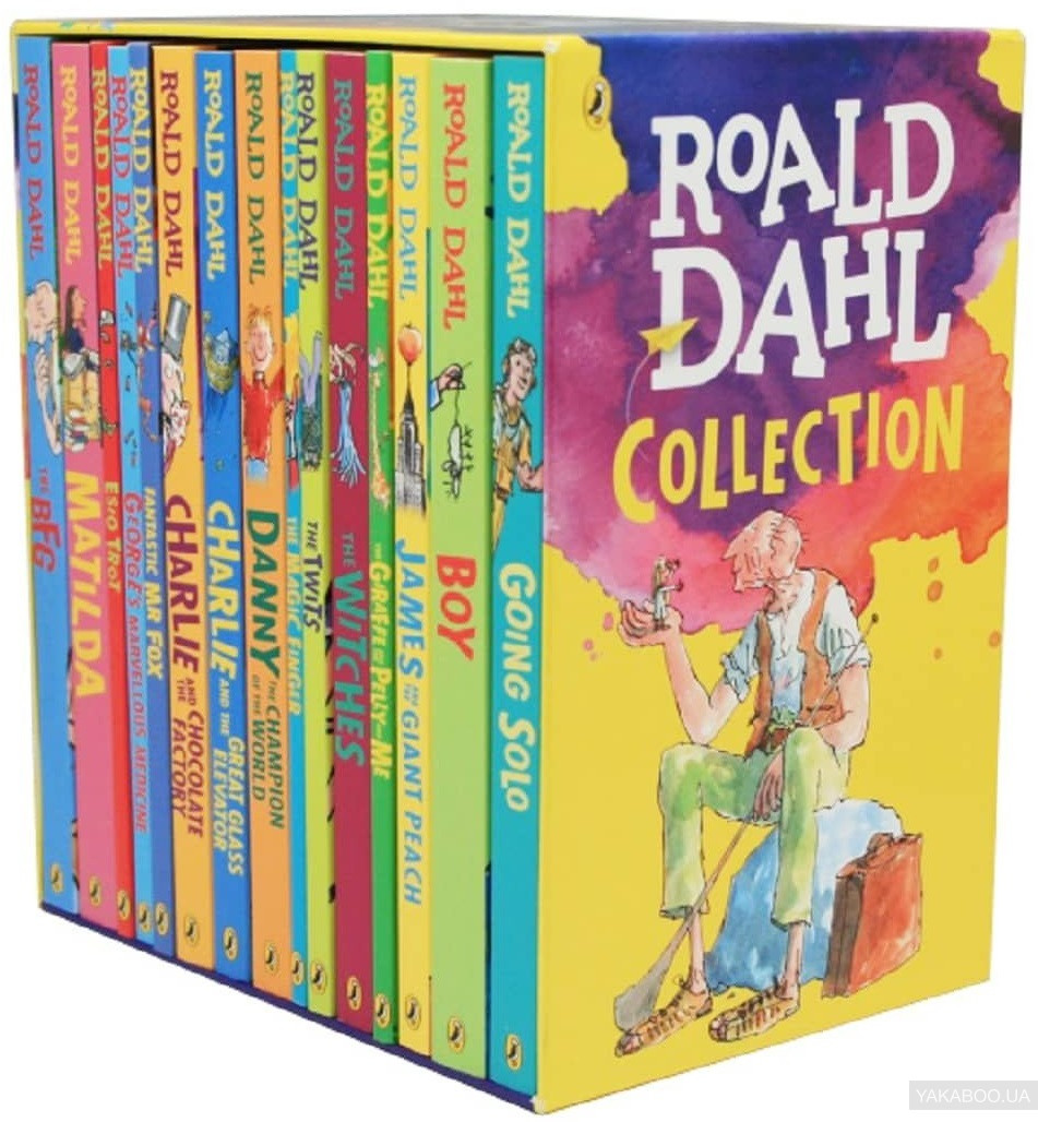 Купить Roald Dahl: Collection 15 Book Boxed Set 2016 Edition, Penguin, Роальд Даль, 9780141371337