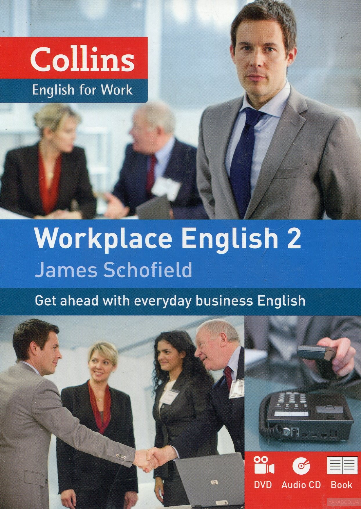 Workplace English 2 book with Audio CD&DVD