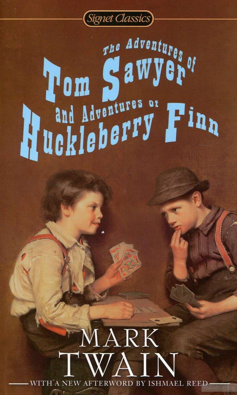 "the adventures of tom sawyer huckleberry The adventures of tom sawyer is a good book, but it's a ""storybook""—fun, entertaining, etc the adventures of huckleberry finn is literature."