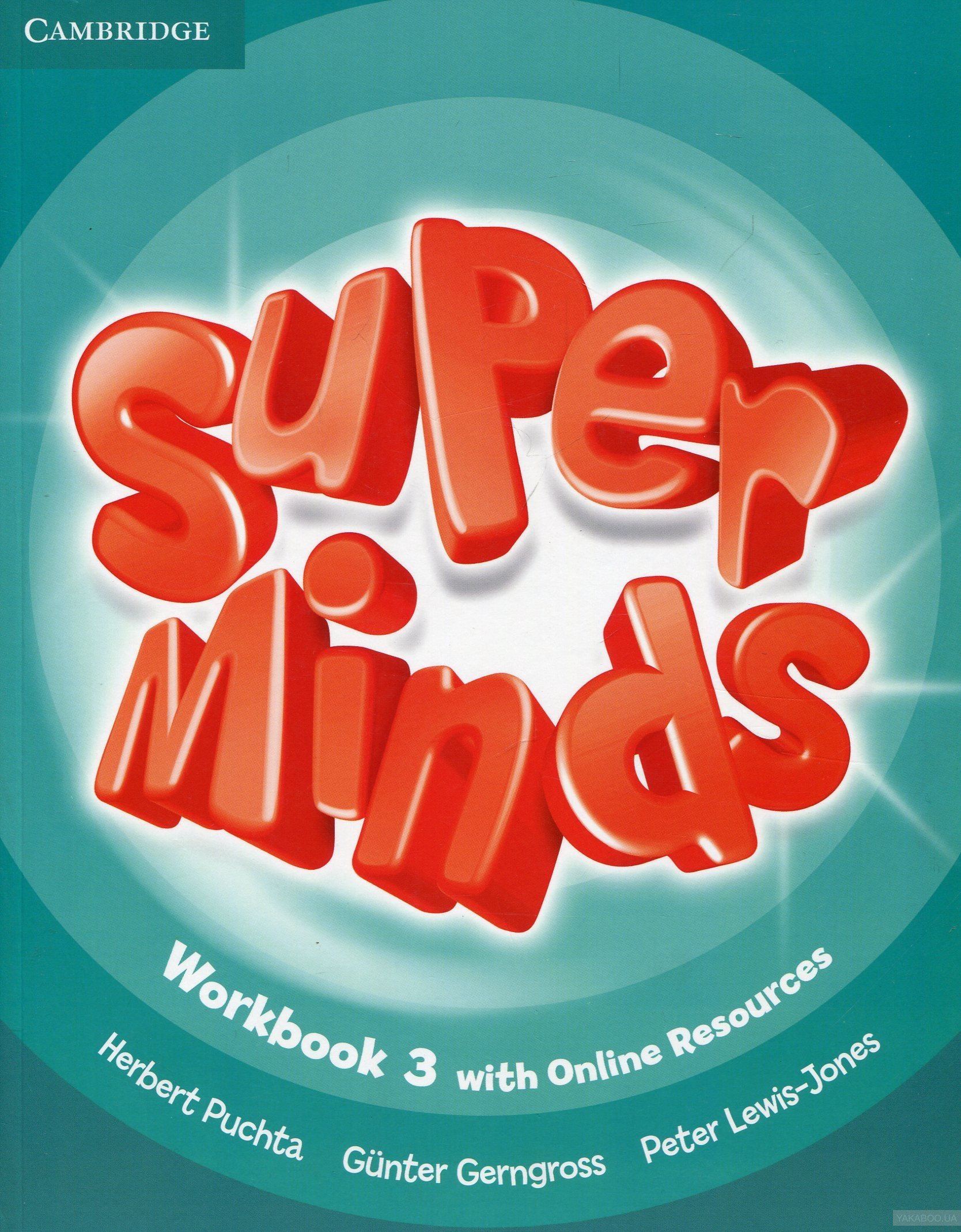 Super minds level 3 workbook with
