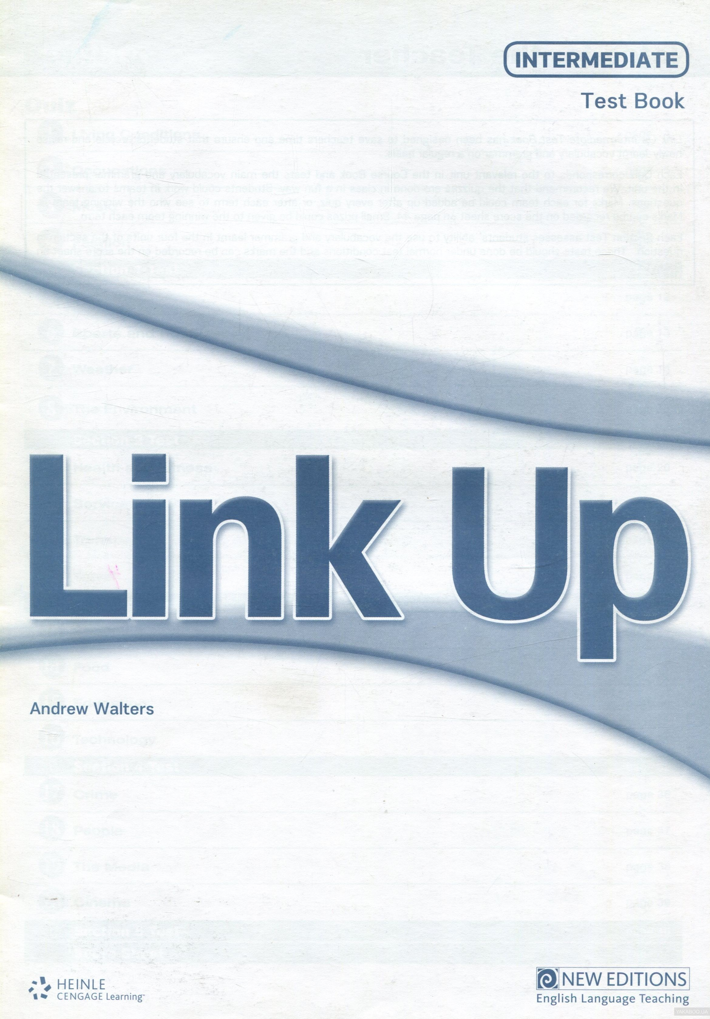 Link up. intermediate. test book