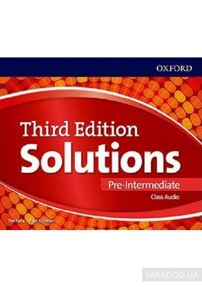 Фото - Solutions. Pre-Intermediate. Class Audio CDs