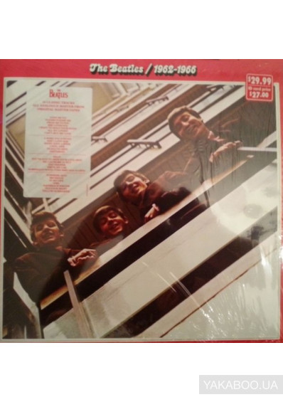 Фото - The Beatles: 1962-1966 (2 Vinyl, LP) (Import)