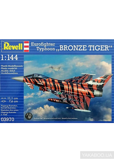 Фото - Винищувач Revell Eurofighter Bronze Tiger 1: 144 (3970)
