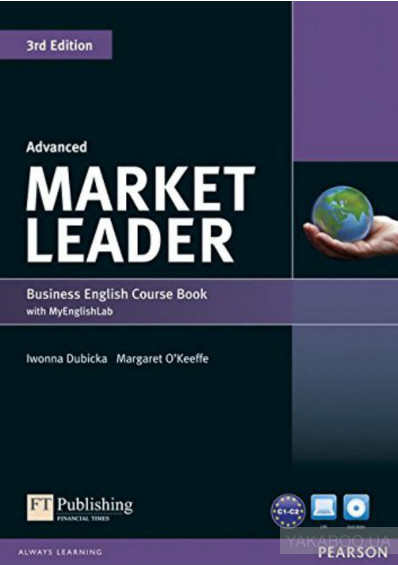 Фото - Market Leader (3rd Edition) Advanced Coursebook with DVD-ROM and MyLab Access Code