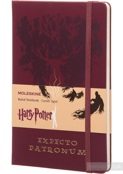 Фото - Нотатник Moleskine Harry Potter Expecto Patronum в лінію (LEHPAQP060)