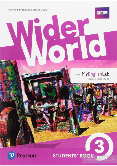 Фото - Wider World 3 (B1) Student's eBook (Internet Access Card) with MyEnglishLab & Extra Online Homework