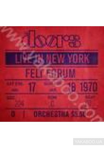 Фото - The Doors: Live in New York (LP) (Import)