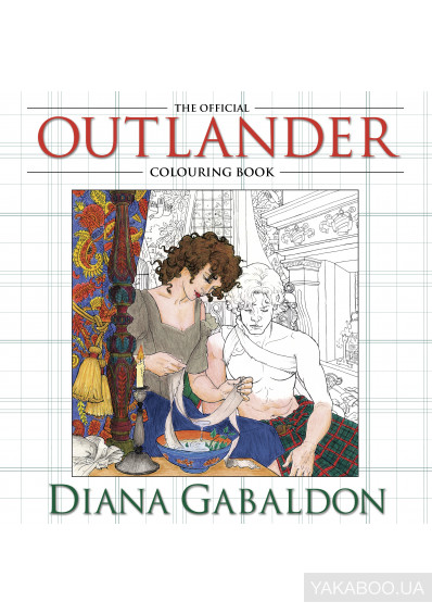 Фото - The Official Outlander Colouring Book