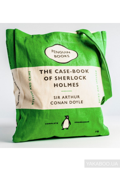 Фото - Екоторба Penguin The Case-book of Sherlock Holmes (5060312813113)