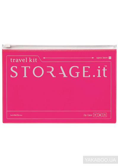 Фото - Чохол Storage.it New Zip Case Рожевий неон (STI-VC3-NPK)