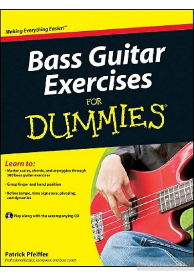 Фото - Bass Guitar Exercises For Dummies