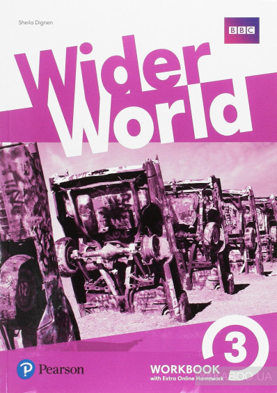 Фото - Wider World 3 Workbook with Online Homework