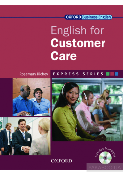 Фото - Oxford English for Customer Care. Student's book (+ CD-ROM)