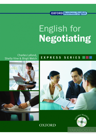 Фото - Oxford English for Negotiating. Student's Book (+ CD-ROM)
