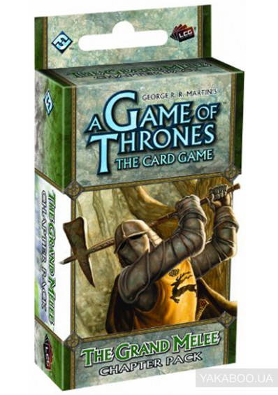 Фото - Дополнение к расширению A Tale of Champions к игре A Game of Thrones The Card Game  The Grand Melee Chapter Pack (13305)