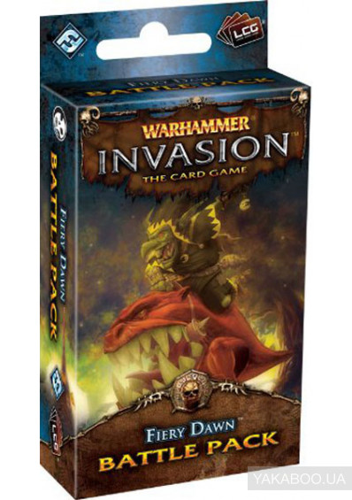 Фото - Шестая глава из цикла The Morrslieb Cyclе к карточной игре Warhammer Invasion The Card Game Fiery Dawn (13185)