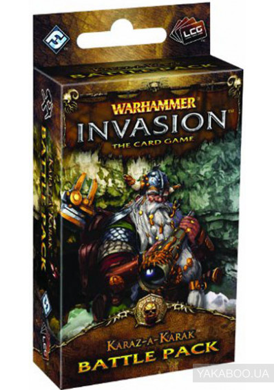 Фото - Четвертая глава из цикла The Enemy Cycle к карточной игре Warhammer Invasion The Card Game Karaz-a-Karak (13186)