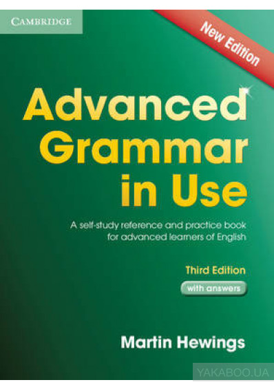 9515cfb3e9b7 Advanced Grammar in Use Book with Answers  A Self-Study Reference and Practice  Book for Advanced Learners of English