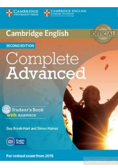 Фото - Complete Advanced Student's Book with Answers with CD-ROM
