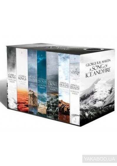 Фото - A Song of Ice and Fire Boxed Set. The Story Continues. Volumes 1-7 (комплект из 7 книг)