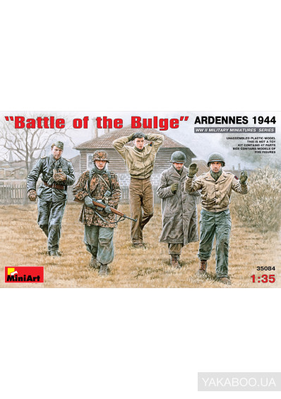 Фото - Модель MiniArt Операция Battle of the Bulge Арденны (MA35084)