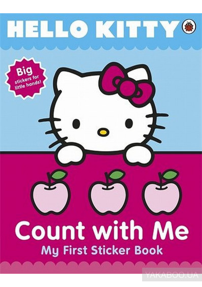 Фото - Hello Kitty Count with Me Sticker Book