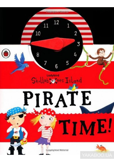 Фото - Ladybird Skullbones Island Pirate Time! Clock Book