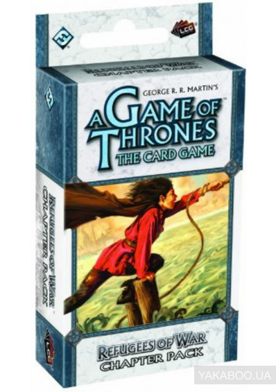 Фото - Дополнение к игре FFG A Game of Thrones LCG: Refuges of War Chapter Pack (13068)