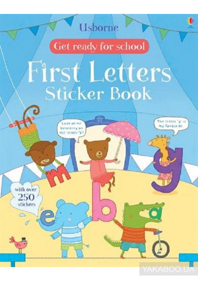 Фото - Get Ready for School. First Letters Sticker Book