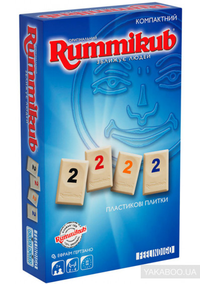 Фото - Настольная игра Feelindigo Rummikub mini (FI9500)