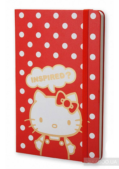Фото - Нотатник Moleskine Hello Kitty (LEHK01QP060)