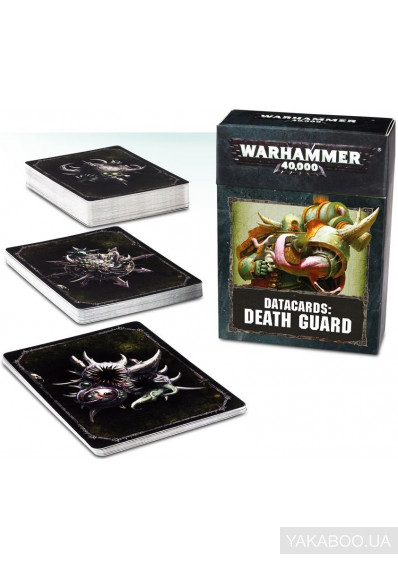 Фото - Набор карт Games Workshop Datacards: Death Guard (60220102005)