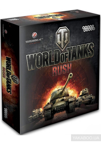Фото - Настольная игра Hobby World World of Tanks Rush 2-е рус. изд. (1341)