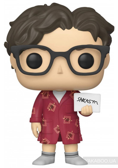 Фото - Колекційна фігурка Funko Pop! Pop TV Big Bang Theory S2 Leonard (FK38586)