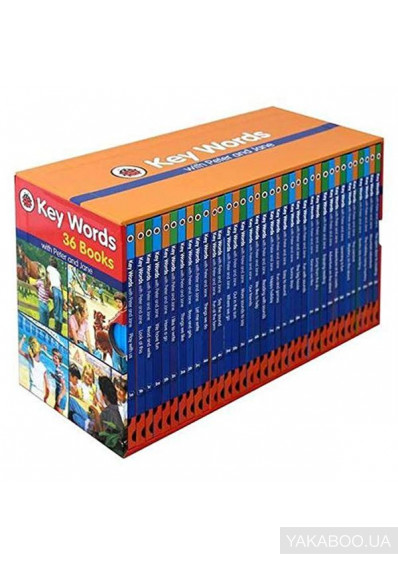 Фото - Key Words with Peter and Jane 36 Books Box Set