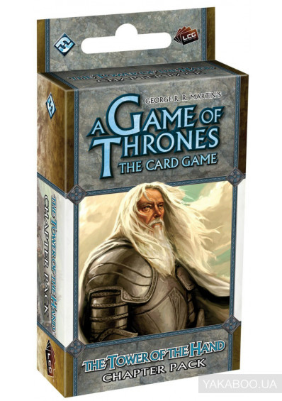 Фото - Расширение цикла FFG A Game of Thrones LCG: The Tower of the Hand Chapter Pack (13400)